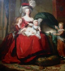 Le célèbre tableau représentant la famille royale (Photo: Caroline D.)