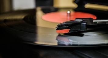Un bon vieux disque vinyle le week end