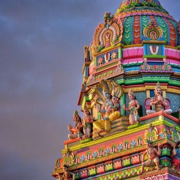 Un temple à Madagascar (DR)
