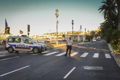 Lieu de l'attentat du 14 juillet 2016 à Nice
